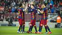 FC Barcelona remain in first place in La Liga. / VÍCTOR SALGADO - FCB