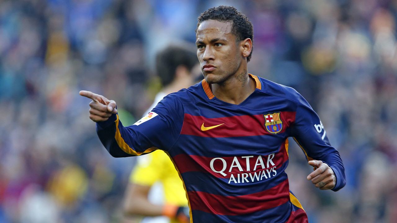 Neymar's 14 goals are tops in La Liga. / MIGUEL RUIZ - FCB