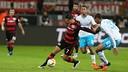 Chicharito helped Bayer Leverkusen salvage a point versus Schalke 04. / BAYER04.DE