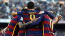 Barça have scored twenty goals in their last five games, all wins. / MIGUEL RUIZ - FCB