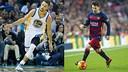 バスケットとサッカーの象徴、ステフィン・カリーとレオ・メッシ / FOTOMUNTATGE-FCB