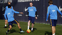 Mathieu returns to the squad for the game against the Galicians / MIGUEL RUIZ - FCB