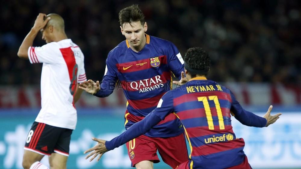 گزارش تصویری: تصاویر نیمار در بازی ریور پلاته و بارسلونا