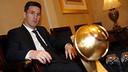 Leo Messi a reçu le prix de Meilleur Joueur de 2015 / MIGUEL RUIZ - FCB