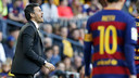 Luis Enrique looks on during FC Barcelona's first home game of 2016, a 4–0 rout of Granada on Saturday at Camp Nou. / MIGUEL RUIZ - FCB