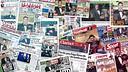 Les portades de la premsa sobre la cinquena Pilota d'Or de Messi
