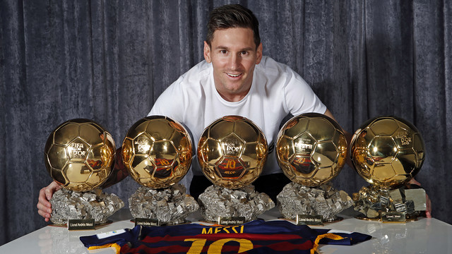 "Leo Messi, dans France Football: ""Neymar gagnera un jour le Ballon d'Or"""