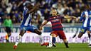 Javier Mascherano in action against Espanyol in the Copa del Rey / MIGUEL RUIZ - FCB