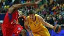 Justin Doellman in action against CSKA Moscow / EUROLEAGUE