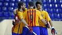 Barça Lassa have beaten Breganze as they also did at the Palau Blaugrana / VÍCTOR SALGADO - FCB