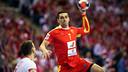 Lazarov, el hombre gol blaugrana en Polonia / FOTO: EHF-Uros Hocevar
