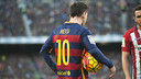 Leo Messi has scored 25 in 28 against Atletico Madrid / VICTOR SALGADO - FCB