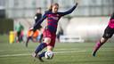 Alexia opened the scoring in Sunday's 3-0 win / VÍCTOR SALGADO - FCB