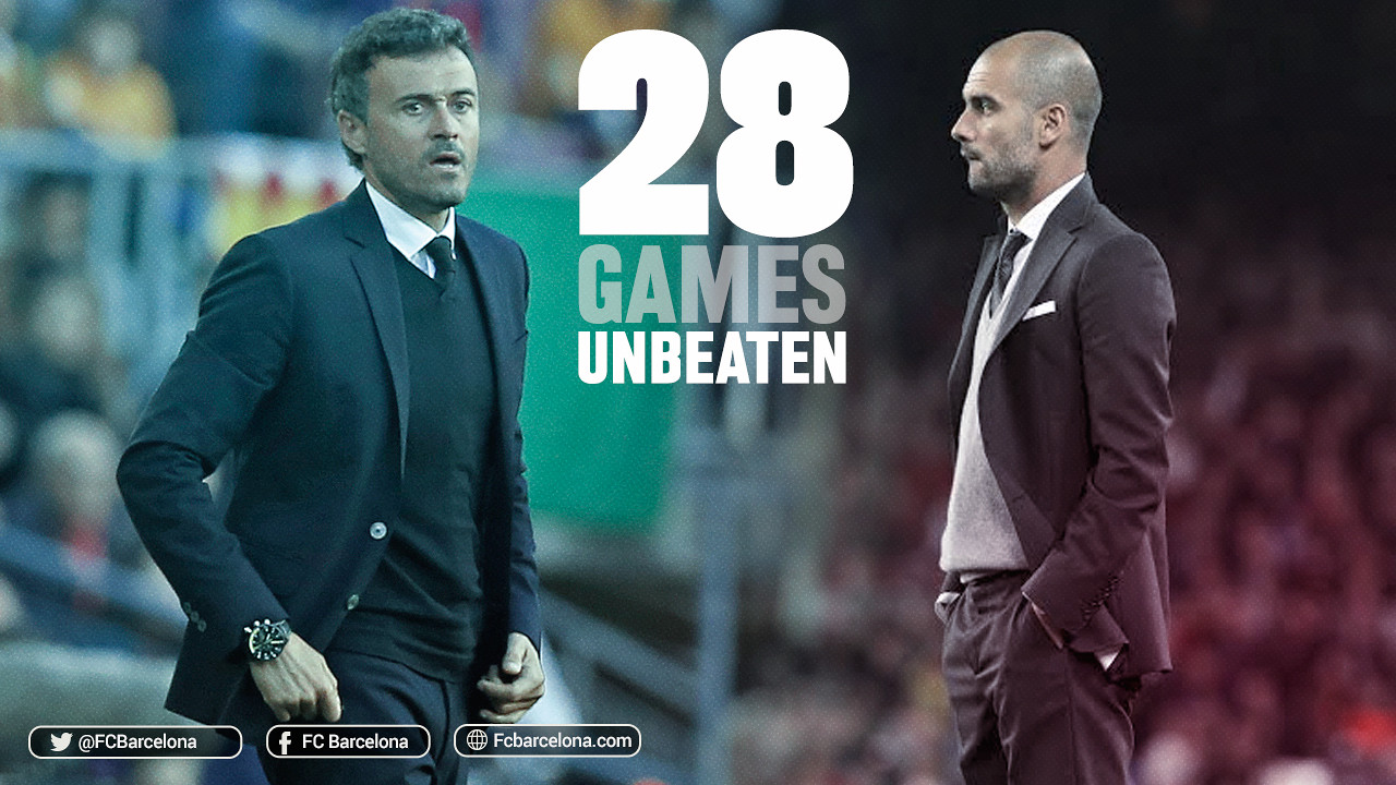The 2-0 win at Levante means a new milestone has been reached under Luis Enrique / FCB
