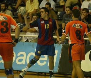 Valero Rivera, a la seva anterior etapa de jugador blaugrana / FOTO:ARXIU-FCB