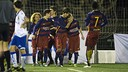 The U14 B team were playing at a carnival tournament in Argentona / PACO LARGO-FCB