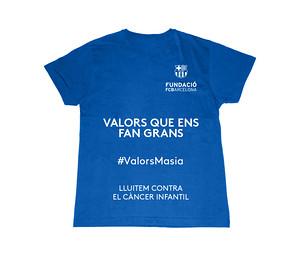 NP_El projecte #ValorsMasia impulsa una nova acció de sensibilització sobre la lluita contra el càncer infantil
