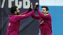 Arda Turan and Messi / MIGUEL RUIZ - FCB