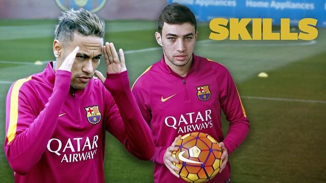 Neymar Jr et Munir, 56 touches de balle sans toucher le sol