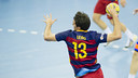 Aitor Ariño top scored in the game / VICTOR SALGADO - FCB
