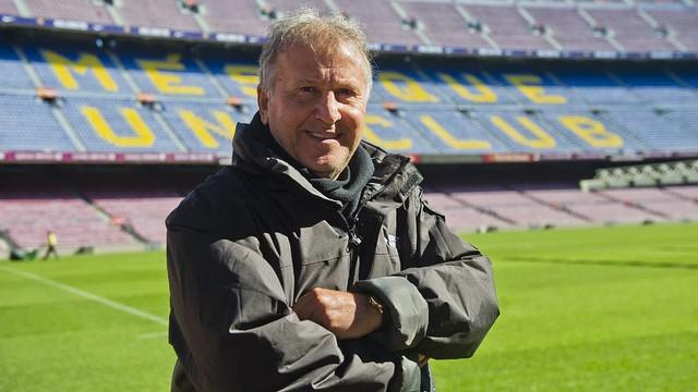 'Zico' stepped onto the Camp Nou turf / VÍCTOR SALGADO - FCB