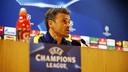 Luis Enrique en conférence de presse à l'Arsenal Stadium / MIGUEL RUIZ - FCB