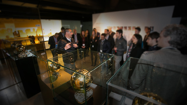 The FC Barcelona Museum was one of the places where receptions were held. / FCB