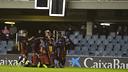 Dani Romera scores the winner / VÍCTOR SALGADO - FCB