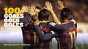 100 buts cette saison pour le trio magique du FC Barcelone