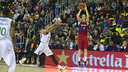 Pau Ribas was big from three-point territory on Sunday. / VÍCTOR SALGADO - FCB