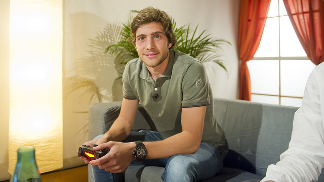 Sergi Roberto features in a very special kind of interview / VICTOR SALGADO - FCB