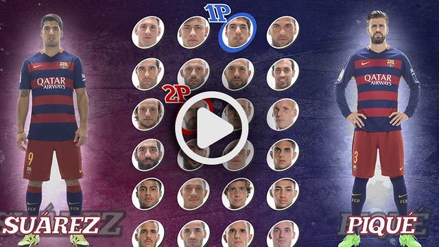 Suárez i Piqué Skills