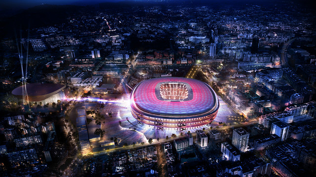 Panoramic view of the New Camp Nou / FCB