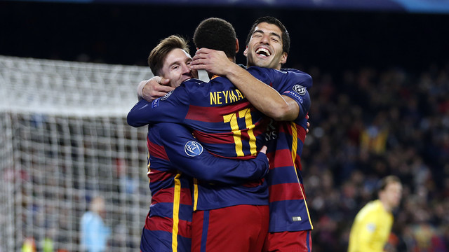 Barça's front three have been in frightening form this season / MIGUEL RUIZ - FCB