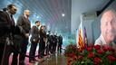 Les membres du Conseil d'Administration ont rendu hommage à Cruyff ce matin / FCB