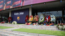The Johan Cruyff Memorial is located in the Camp Nou grandstand / GERMÁN PARGA - FCB