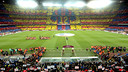 The twelfth man mosaic before the last El Clásico at Camp Nou. / GERMÁN PARGA-FCB