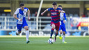 Rafa Mujica scores his first goal for the reserves / VÍCTOR SALGADO - FCB