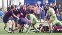 El Barça de rugby no jugará el play-off después de perder ante el Complutense Cisneros / Foto: VÍ CTOR SALGADO
