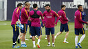 The players train for the last time on Friday / MIGUEL RUIZ-FCB