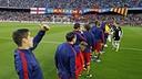 Les joueurs du Barça face à un défi de taille / MIGUEL RUIZ-FCB