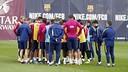 The squad in Friday's training / MIGUEL RUIZ-FCB