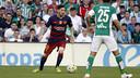 Leo Messi pendant le match face au Betis / MIGUEL RUIZ - FCB