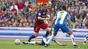 Ivan Rakitic and Barça beat Espanyol 5–0 at Camp Nou on Sunday. / MIGUEL RUIZ - FCB