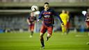 Dani Romera, durante un partido en el Miniestadi / MIGUEL RUIZ - FCB