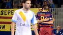 Barça Lassa celebrating their second goal / Juan Carlos Berlanga - CATGAS SANTA COLOMA