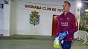 Ter Stegen, avant de jouer contre Grenade / MIGUEL RUIZ - FCB