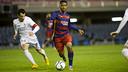 Kaptoum, en una acción del partido de la primera vuelta / VICTOR SALGADO - FCB