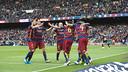 Barça scored the majority of their goals at Camp Nou / VÍCTOR SALGADO - FCB