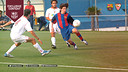 Leo Messi scored 4 against Sevilla as an U19 player / FCB